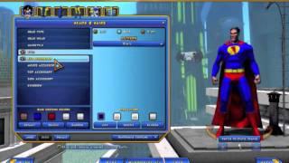 Champions Online - TUTORIAL 2 Criação de personagens