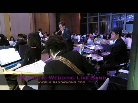 Romantic Light Jazz Music - Hong Kong Wedding Band (香港婚禮樂隊)