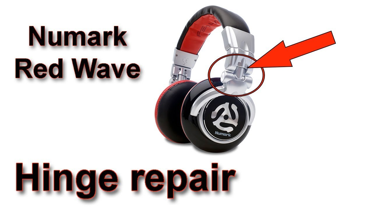 d5950fe9715 Fixing a hinge on Numark Red Wave Dj Headphones - YouTube