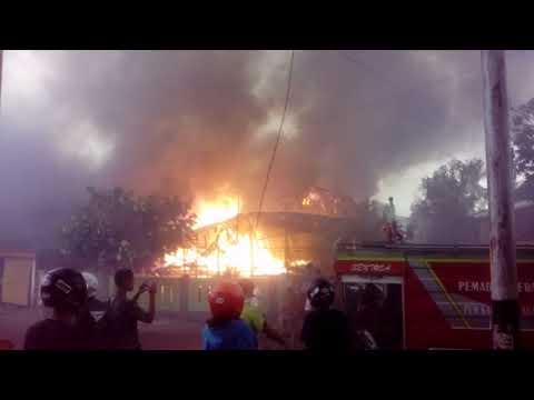 Video : Kebakaran Di Jalan Syarief Al-Qadri Benteng Selayar
