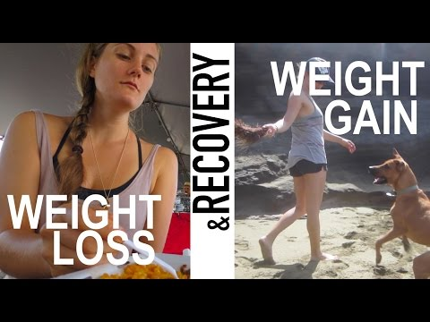 My Eating Disorder - Weight Loss, Weight Gain, & Recovery