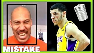 The Greatest Mistake Lonzo Balls Father Ever Made!! Lonzo Balls Downfall