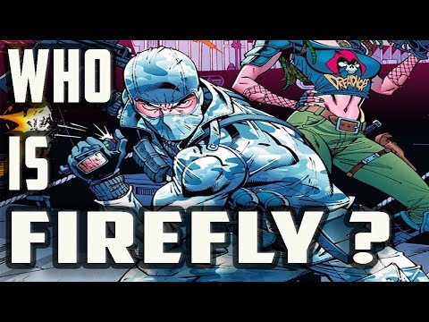 History And Origin Of GI Joe's FIREFLY!