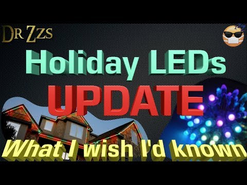 Holiday LEDs - What I wish I'd have known : LightTube