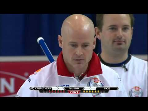 Koe vs. Carruthers - 2015 Home Hardware Canada Cup of Curling (Draw 7)