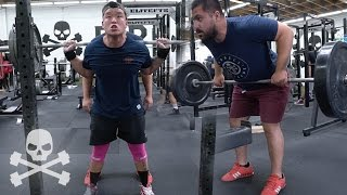 NADEEM WEIGHTS 297LBS: RAW WORKOUTS (Episode 3)