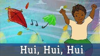 Hui Hui Hui Ich Bin Der Wind Lichterkinder Kinderlieder Laternen Und Herbstlieder