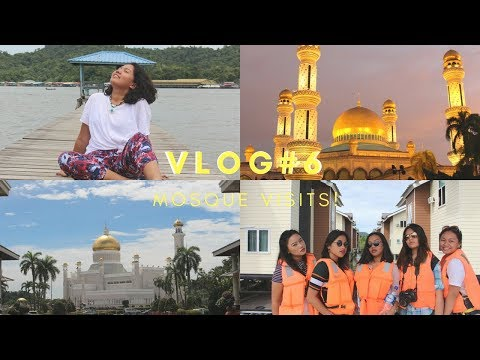 MOSQUES & KAMPONG AYER | isla girl in Brunei | vlog#6