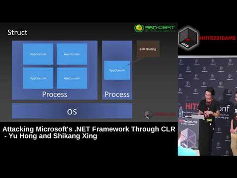 #HITB2018AMS D1T2 -  Attacking Microsoft's .NET Framework Through CLR -  Yu Hong &  Shikang Xing