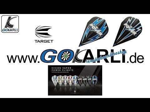 Target Rvb Ultra Ghost Dart Flights verschiedene Flightformen Flight Shape