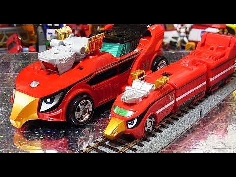 よみがえる烈車合体シリーズEX ゴーオンジャーレッシャー  EX  Go-onger train