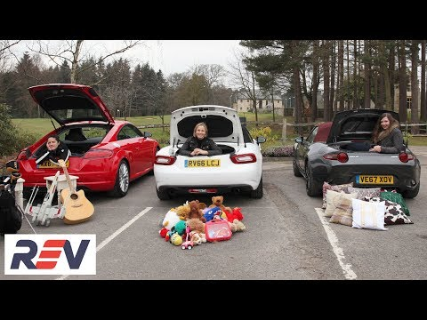 The REV Test: Small sports cars - Three women, three cars. Which one is the winner?