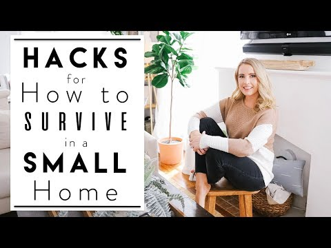 INTERIOR DESIGN | Clever Small Apartment Hacks & Ideas