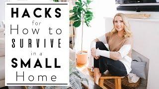Interior Design | Clever Small Apartment Hacks & Ideas
