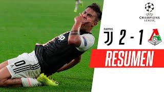 Juventus - Lokomotiv [2-1] | GOLES | Grupo D | UEFA Champions League