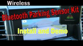 FenSens Smart Bluetooth Wireless Parking Sensor Installation