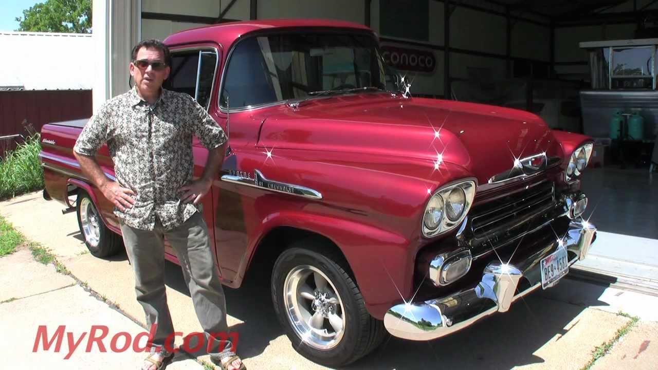 1958 Apache Truck - MyRod.com - YouTube