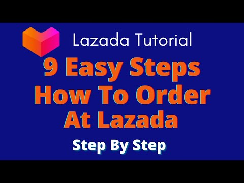 9 Easy Steps On How To Order At Lazada Philippines Online | Easy Ordering And Easy Payment