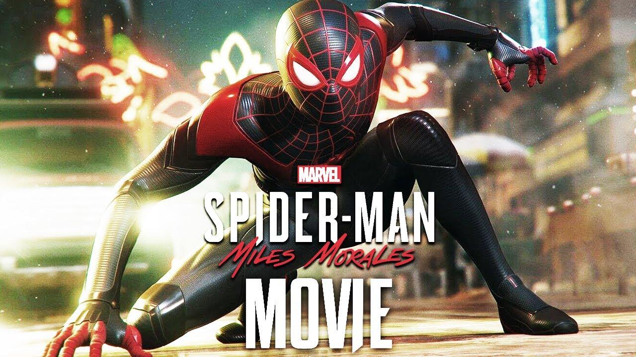 SPIDER-MAN: MILES MORALES All Cutscenes (Game Movie) 1080p 60FPS HD