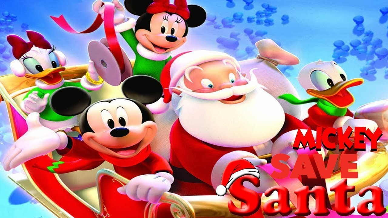 Mickey Mouse Clubhouse - Mickey Saves Santa Full Movie ...