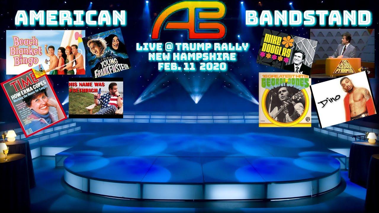 American Bandstand LIVE- DICK CLARK, FUNICELLO, M DOUGLAS, FELDMAN, JONES, BOMBECK, S RICH, DINO C.