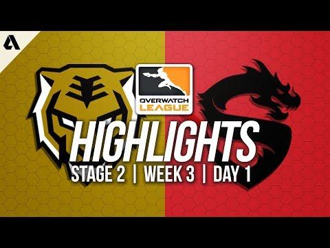 Seoul Dynasty vs Shanghai Dragons | Overwatch League Highlights OWL Stage 2 Week 3 Day 1