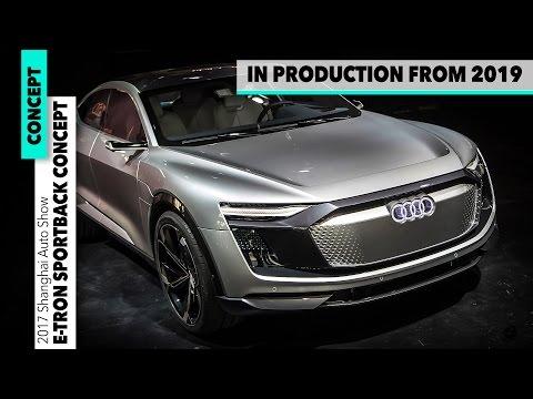 2019 Audi e-tron Sportback concept - TESLA KILLER ?? Car Design EXTERIOR + INTERIOR  [GOMMEBLOG]