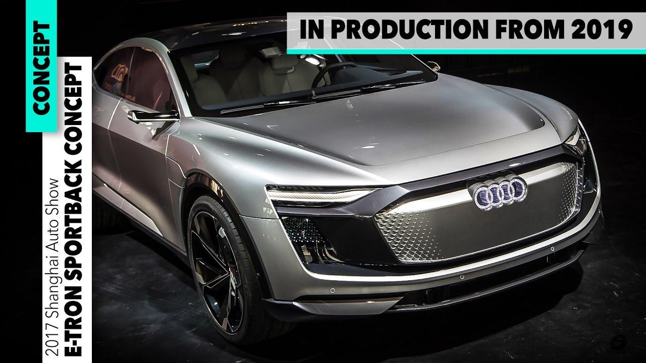 Audi Etron Sportback Concept TESLA KILLER Car Design - Audi e car