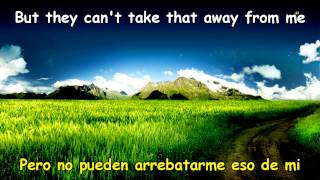 mariah carey cant take that away from me lyrics subtitulos espanol