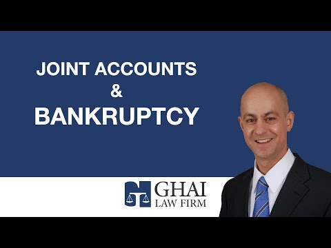 Joint Accounts & Bankruptcy