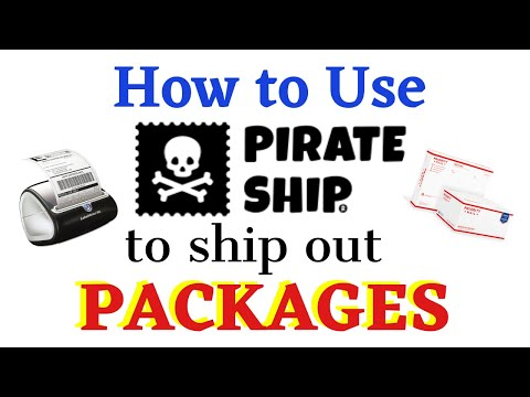 How to Ship Using Pirate Ship! Perfect for Mercari Packages
