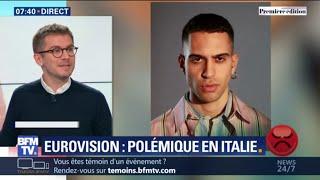 En Italie, le choix du candidat à l'Eurovision crée la polémique
