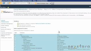 SharePoint Administrator Guide - SharePoint Server 2010 Enterprise - Lesson Four - Farm Restore