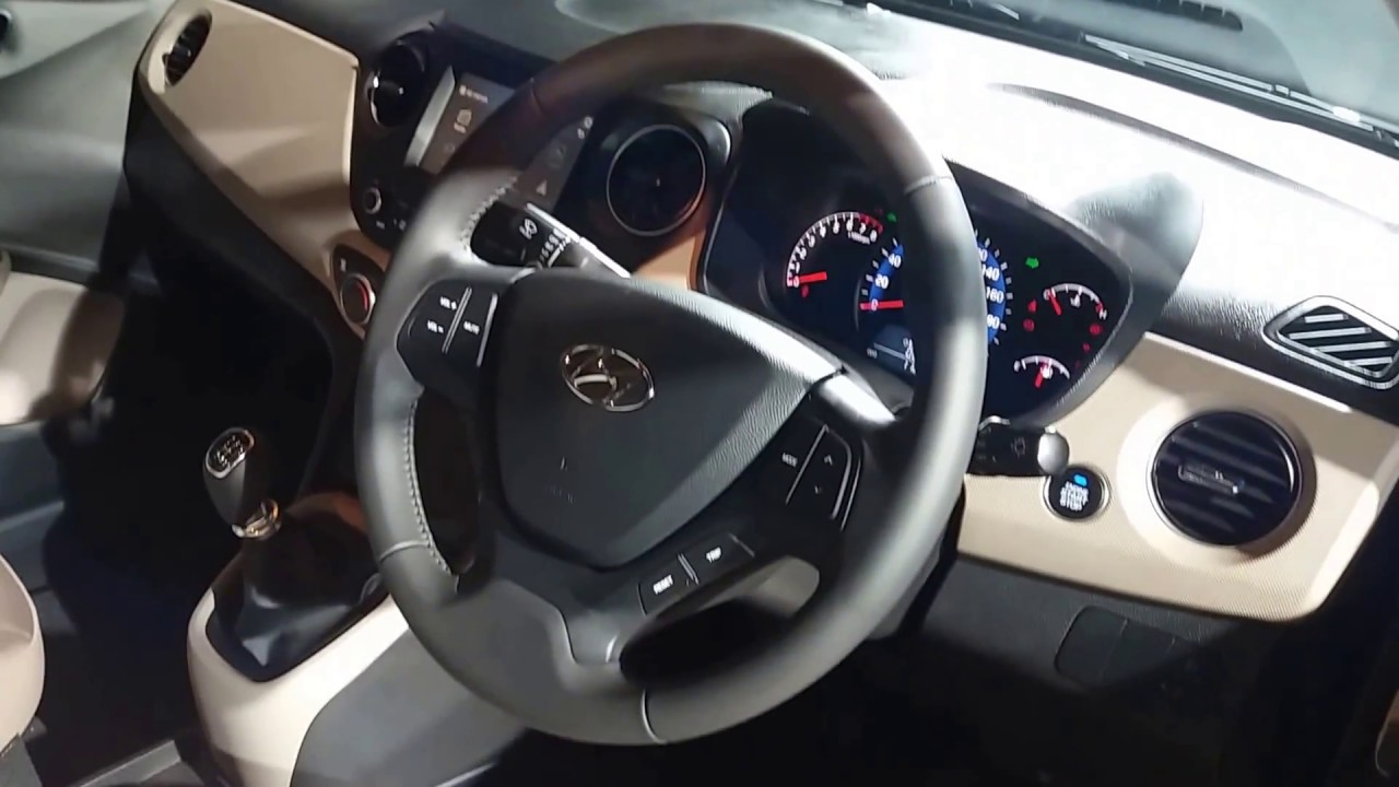 Hyundai Xcent 2017 Front Interiors Video Youtube