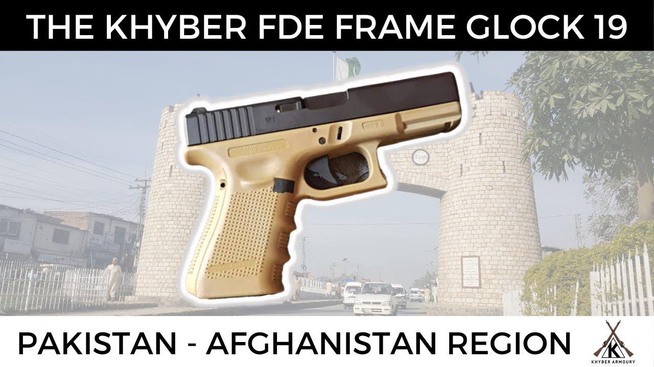 Pakistani Khyber / Peshawar / Darra Made 9mm Glock 19 Clone With FDE Frame!
