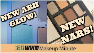 Makeup Minute | Anastasia Beverly Hills AURORA Palette FIRST LOOK! + NARS Loaded Eyeshadow Palette!