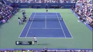 US Open 2012 Final Djokovic vs. Murray HD Best Points from Djokovic // Part 1