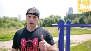 Тренировка силы для MMA. Максим Хилюк.