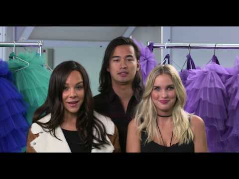 DANCE ACADEMY My Cinema greeting from Alicia Banit, Jordan Rodrigues & Dena Kaplan