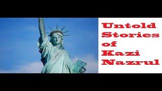 কবি নজরুল নিউইয়র্কে National Poet Kazi Nazrul Islam  by Kowshik Ahmed