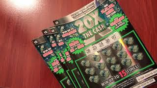 New 20X the Cash - Michigan Lottery - 1/11/19