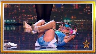 ¡Tiene 82 años, pero demuestra ser una artista de circo! | Audiciones 2 | Got Talent España 2019