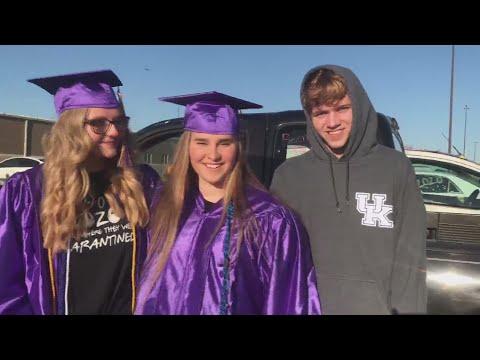 Monett High School seniors participate in graduation caravan