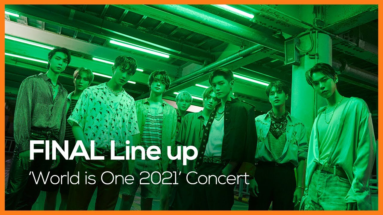 World is One 2021 Concert #NCT127 #ITZY #Sting │ FINAL Line up Teaser