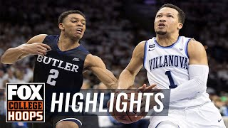 Villanova vs Butler | Highlights | FOX COLLEGE HOOPS
