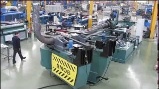 Автоматический дорновый трубогибочный станок (трубогиб) с ЧПУ CH-HD 220 CNC(, 2014-10-05T10:49:37.000Z)