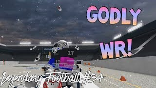 GODLY WR! [Legendary Football Funny Moments #34]
