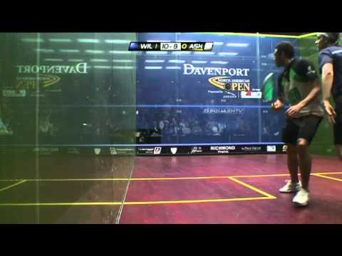 Squash : James Wilstrop v Ramy Ashour  Final Highlights: Davenport North American Open Squash 2012