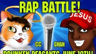 Rap Battle Between Gman and Creationist Cat! Vote for your Favorite DPP #121