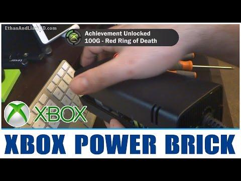 How to Fix a noisy : Xbox Power Supply Brick